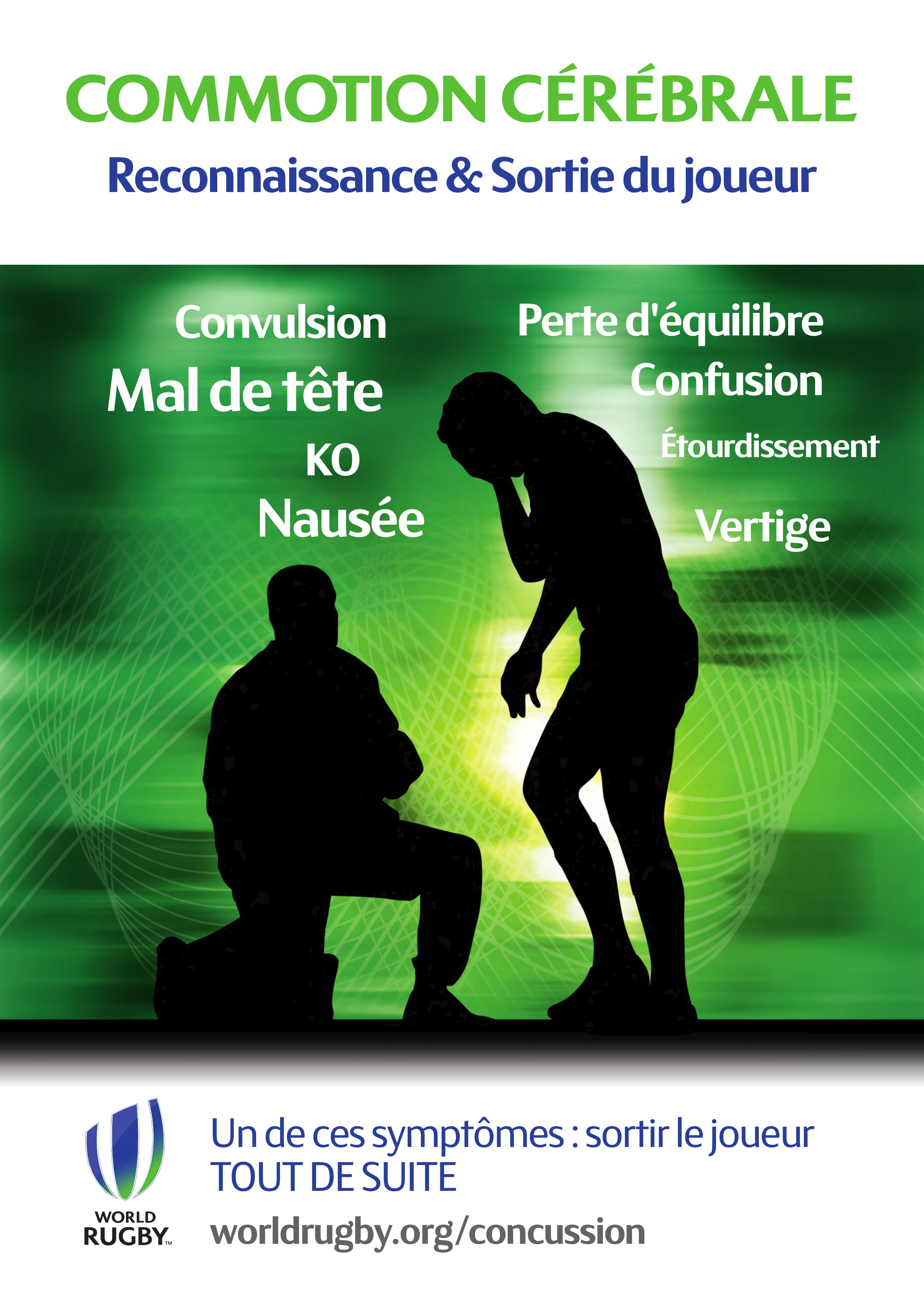 affiche commotion cerebrale
