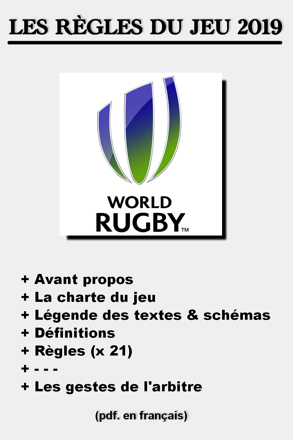 world rugby laws
